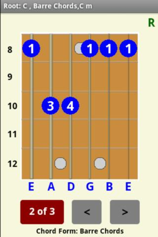 Guitar chord picture