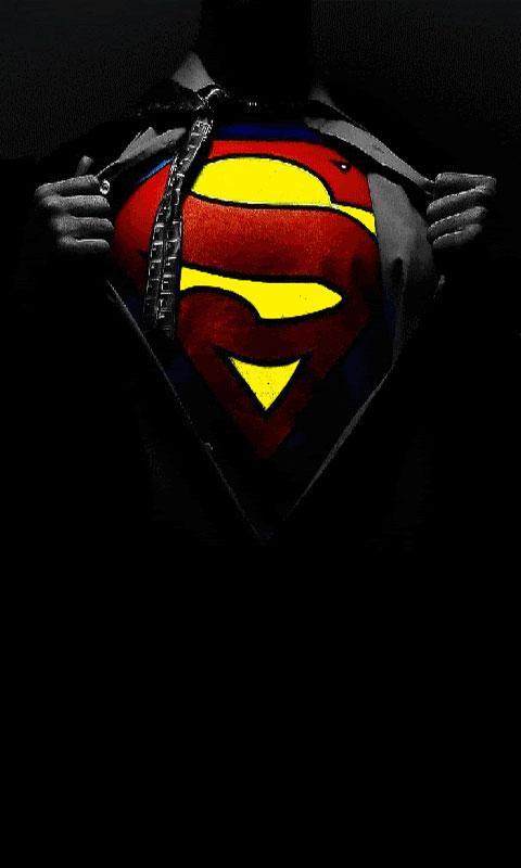 Download Superman Logo Live Wallpaper Gallery
